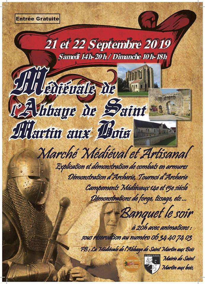 médiévale de l'abbaye de Saint-Martin-aux-Bois