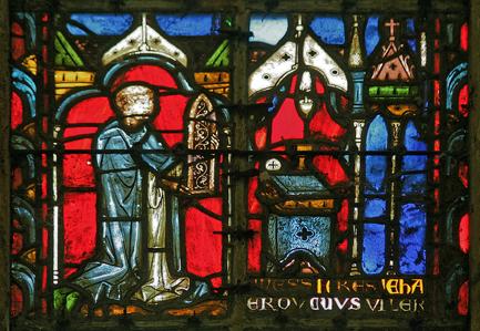 vitrail du 13ème siècle