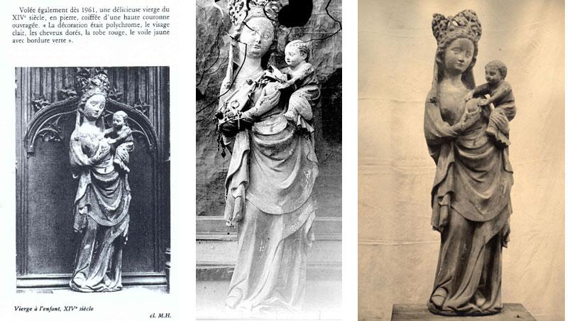 Vierge à l'enfant de Saint-Martin-aux-Bois